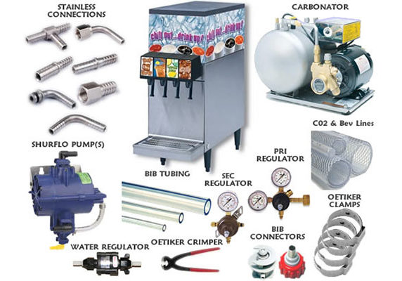 Tognazzini Beverage Service - Fountain Equipment Sales